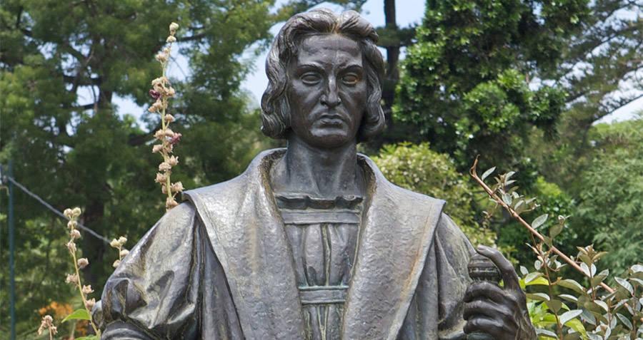Statue Columbus