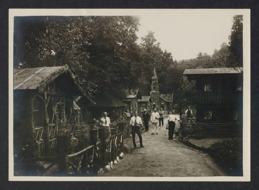 Street In Internment Camp