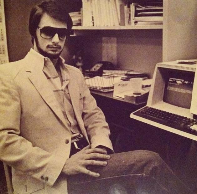 Suave Computer Guy Cool Vintage Photos