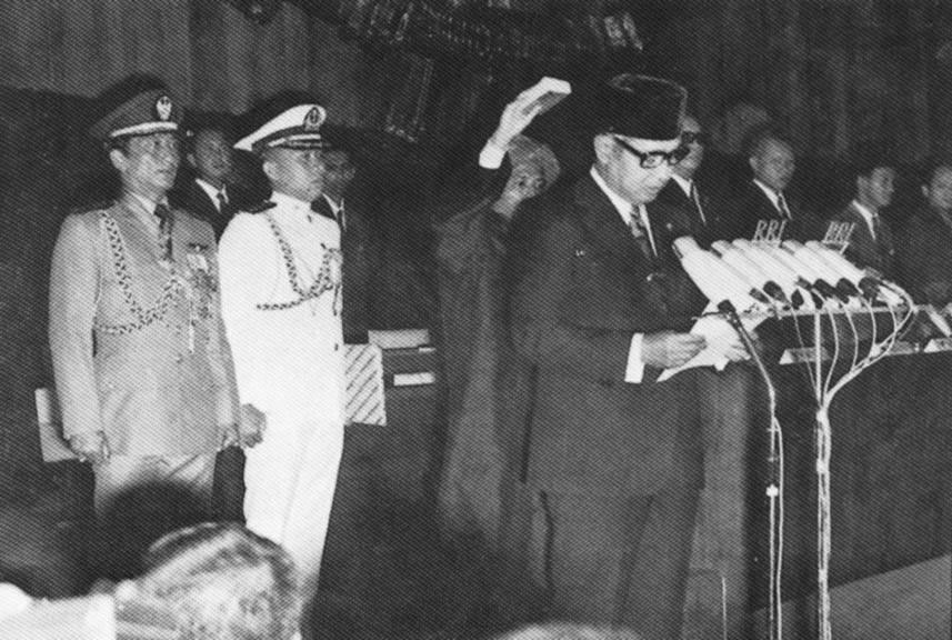 Suharto Podium