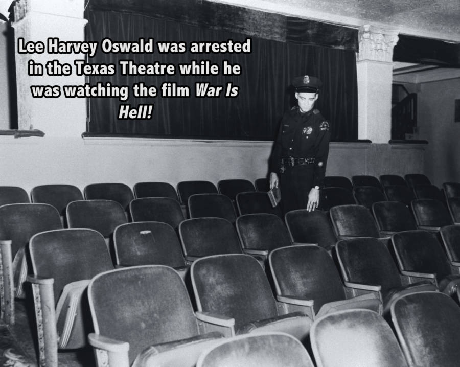 Texas Theater Jfk Assassination Facts