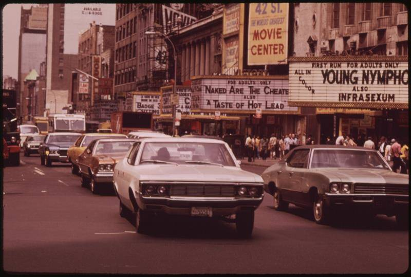 Times Square Movie Theaters