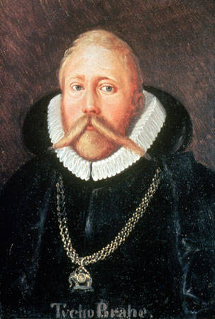 Tycho Brahe painting