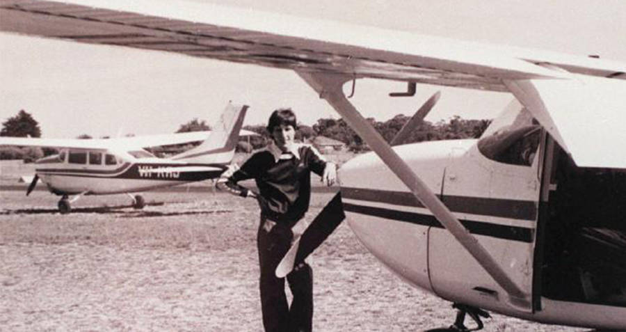 Fred Valentich and his plane