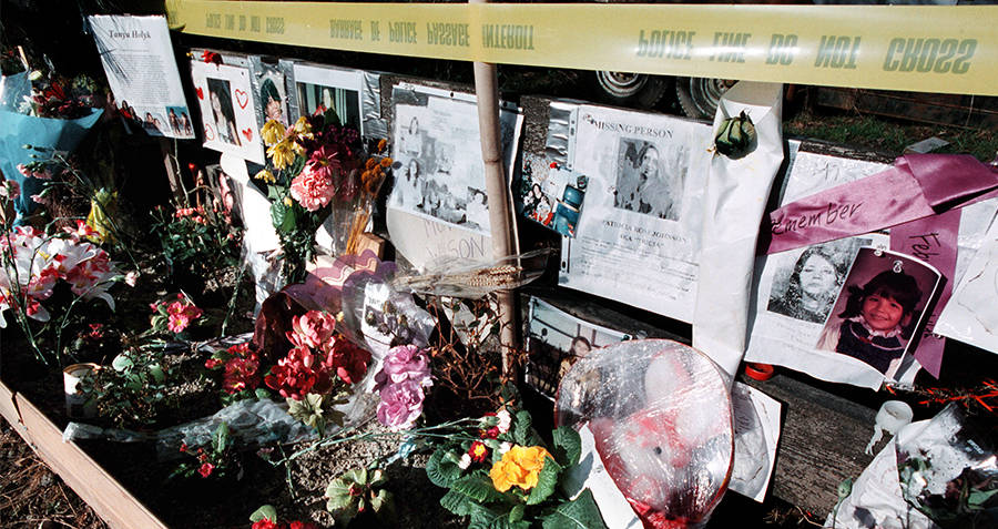 Vigil for Robert Pickton's victims