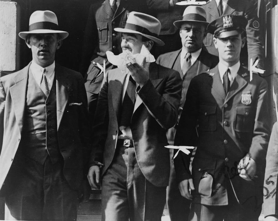 Vincent Coll Leaving Court