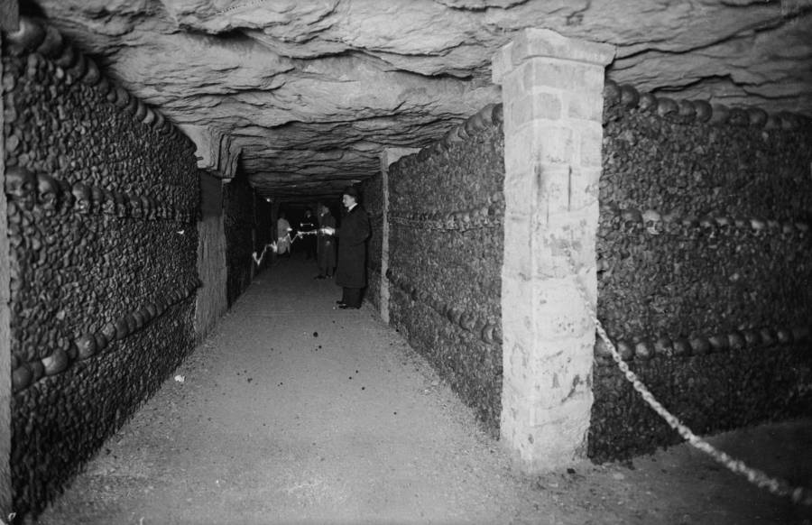 French Catacombs hallway