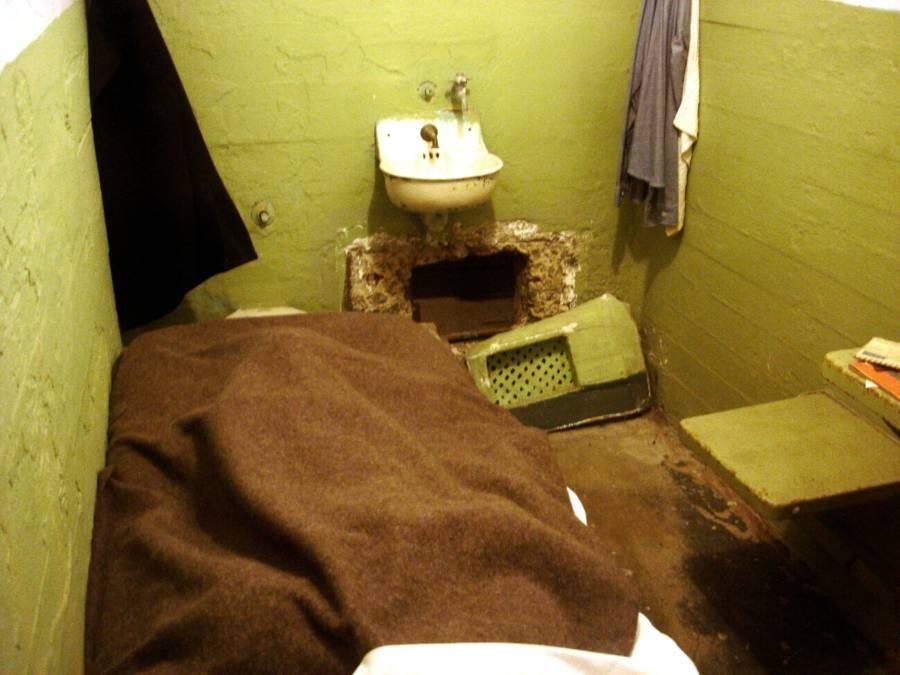 Alcatraz Cell Vent