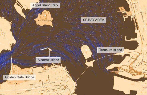 Alcatraz Map