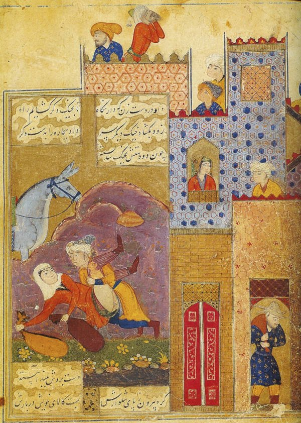 Painting of arabic Sex Scene