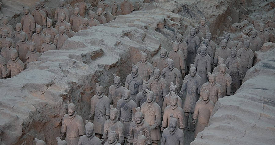 Archaeological Discoveries Terracotta Soldiers