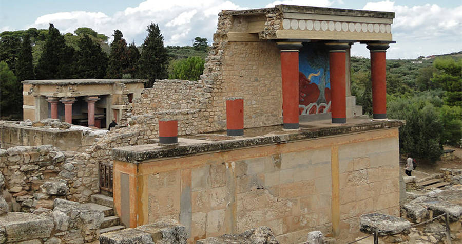 Archaeological Sites Knossos building
