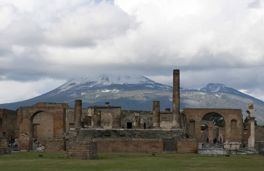 Archaeological Sites Pompeii site