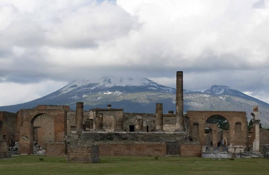Archaeological Sites Pompeii site