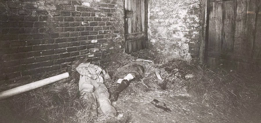 Hinterkaifeck murders crime scene in the barn