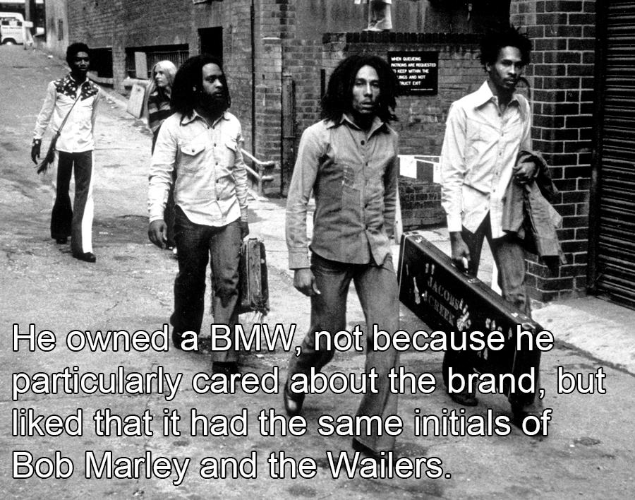 Bob Marley With Band