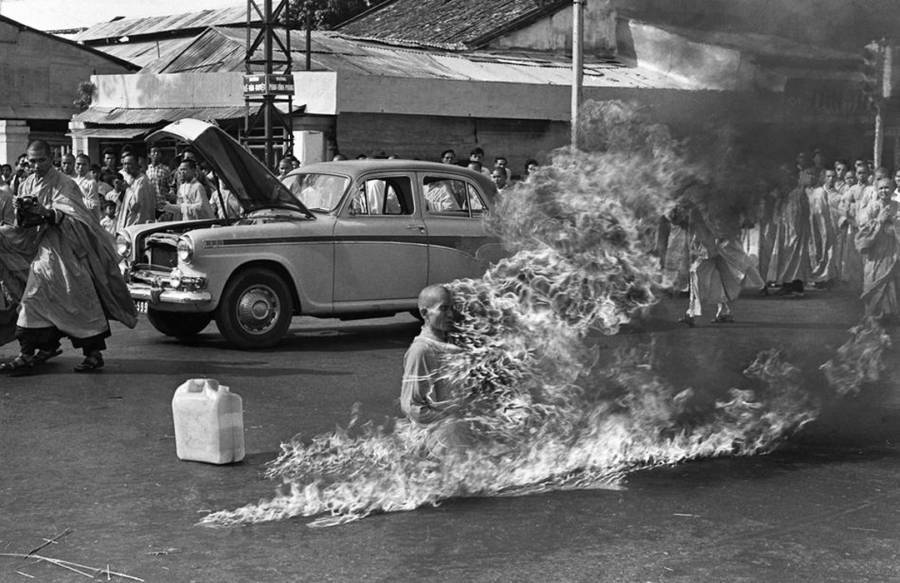 Burning Monk Thich Quang Duc