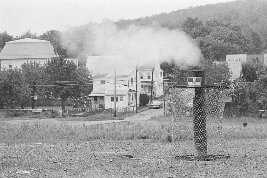 Centralia Fire Smoke Vent