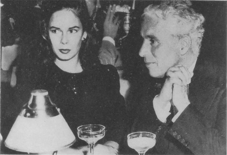 Charlie Chapin and Oona O'Neil