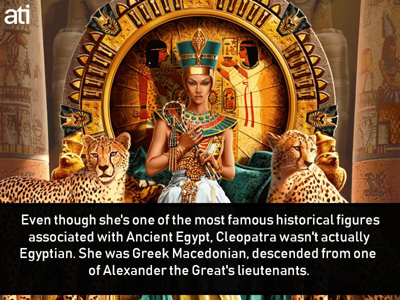 Cleopatra Was Greek Macedonian