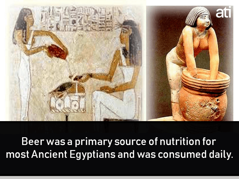 Drinking Beer Ancient Egypt Facts