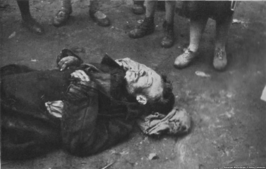 Dying Man Holodomor