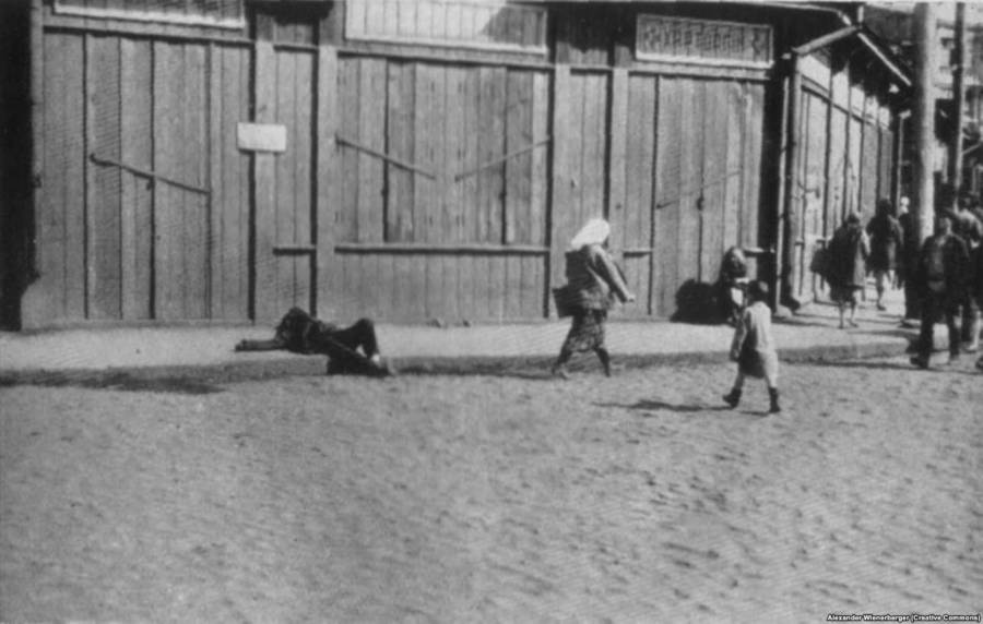Dying On City Streets Ukrainian Genocide
