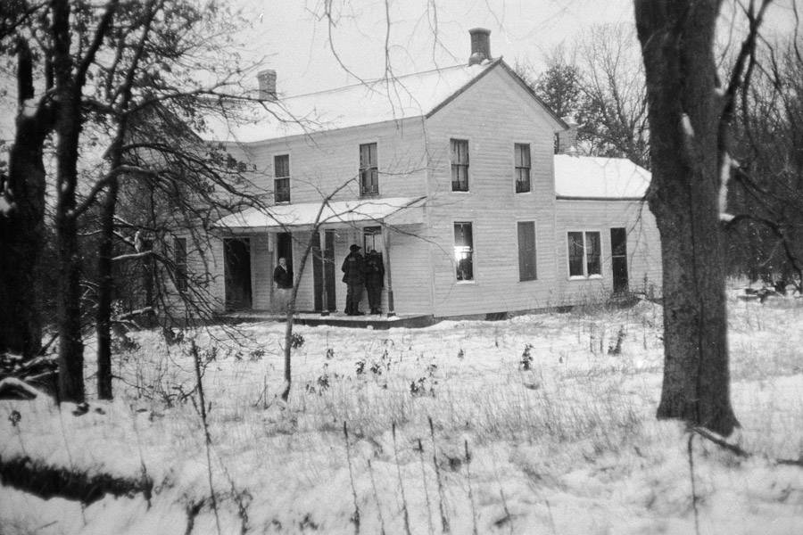 Edward Gein's Home In Winter
