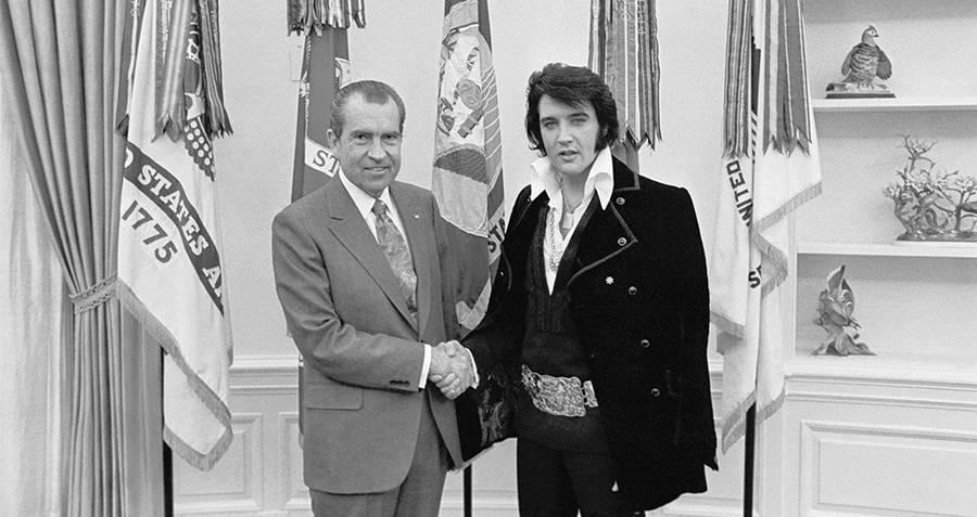 Elvis Presley Meets President Nixon