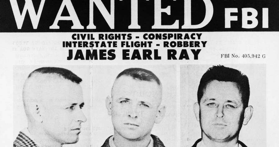 Fbi Most Wanted List James Earl Ray