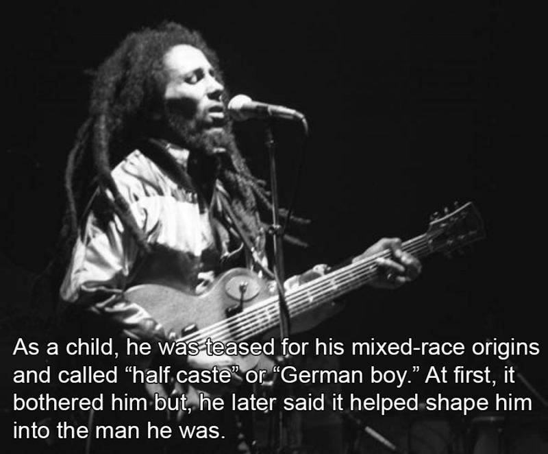 Interesting Bob Marley Facts About His Youth