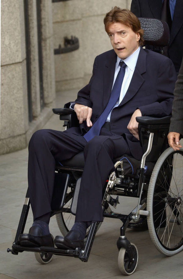 John Paul Getty III In A Wheelchair