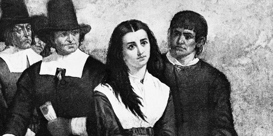 Girl At Salem Witch Trials