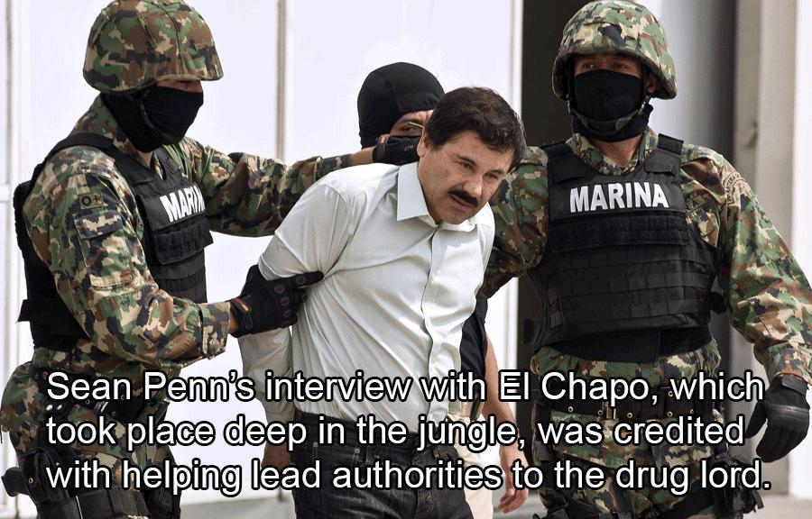Joaquin Guzman Getting Arrested
