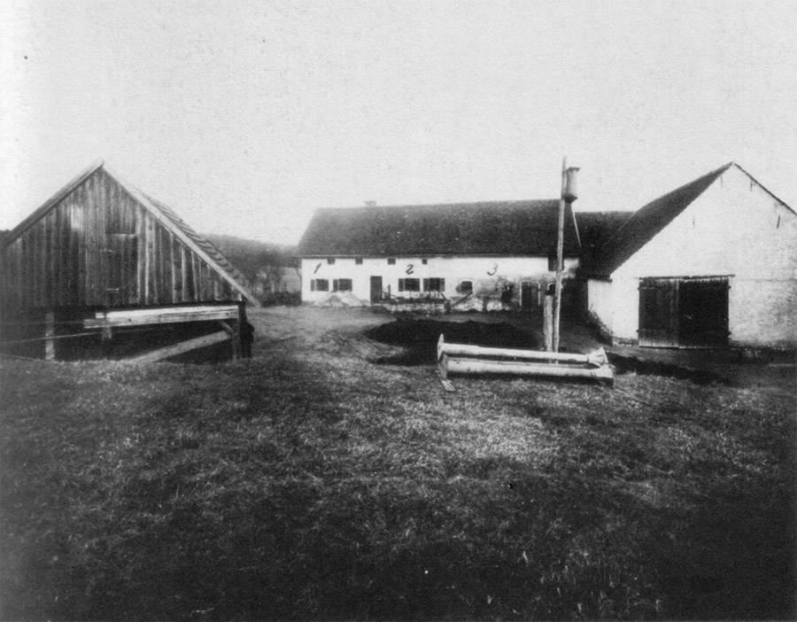 Hinterkaifeck murders farmhouse