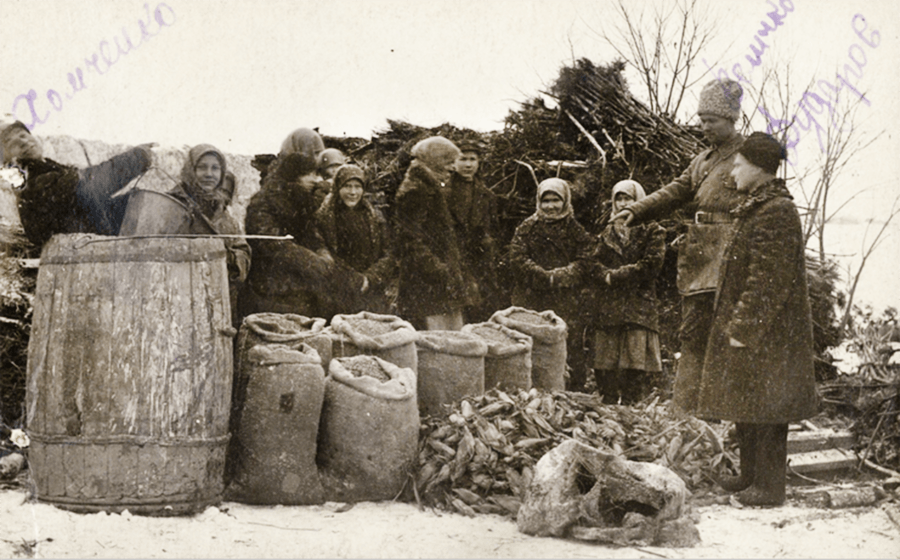 Holodomor Family Rations