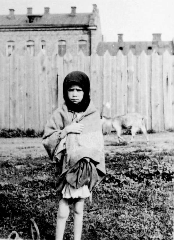 Holodomor Girl With Goat