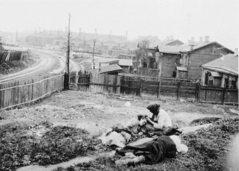 Holodomor Starving In Backyard