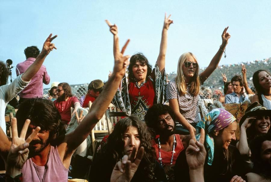 Isle Of Wight Festivalgoers