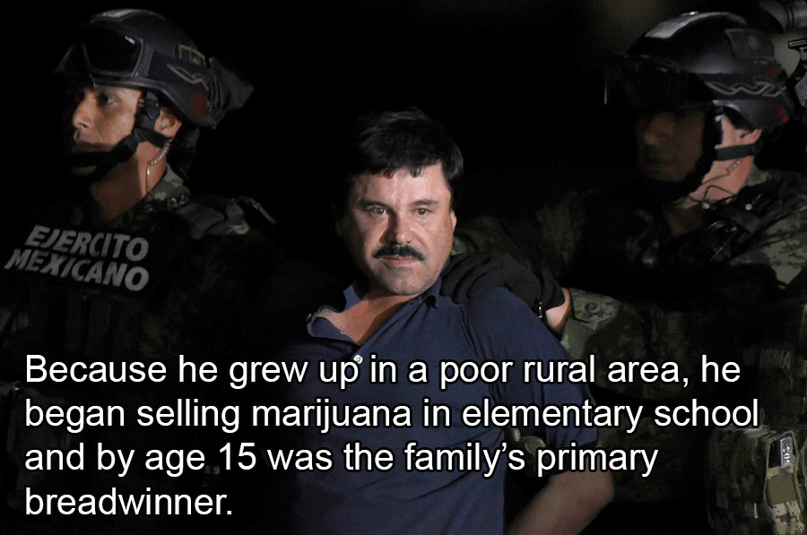 Joaquín Guzmán El Chapo Facts
