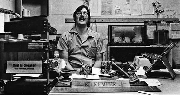 the murderous rampage of edmund kemper At 6 feet 9 inches and with an iq of 145, edmund kemper was an intimidating  killer in every sense of the word kemper's murderous impulses.