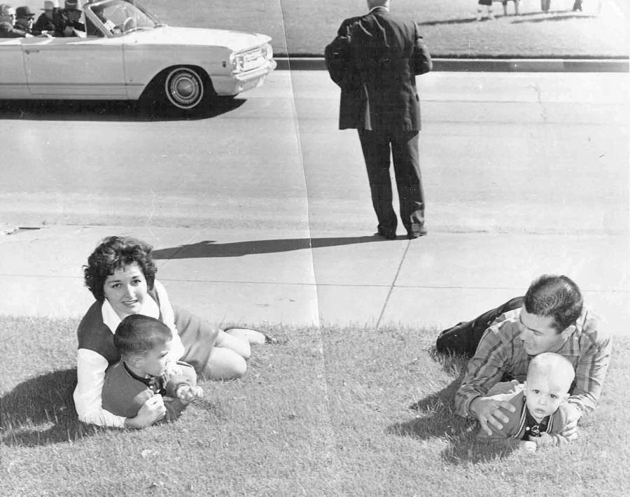 Kennedy Assassination Family Bystanders