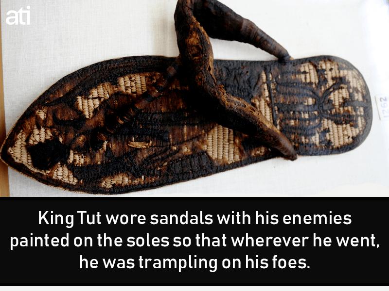 King Tut Sandals