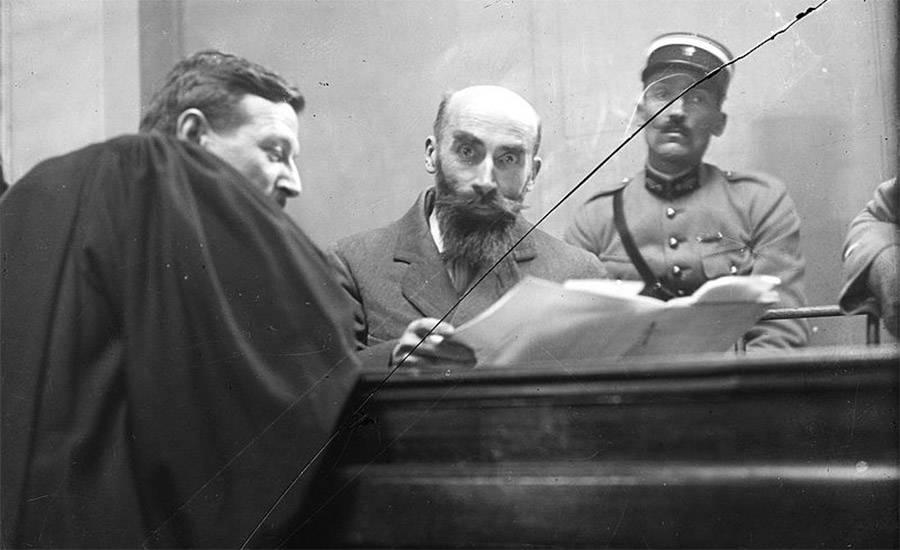 Henri Landru in court