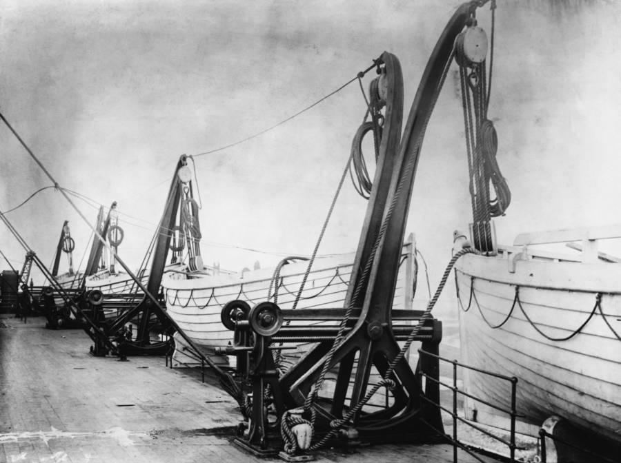 Lifeboats On Titanic