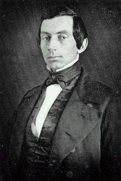 Abraham Lincoln Portrait of a Young Man