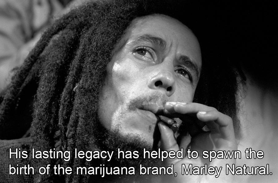 Bob Marley Facts About Marijuana