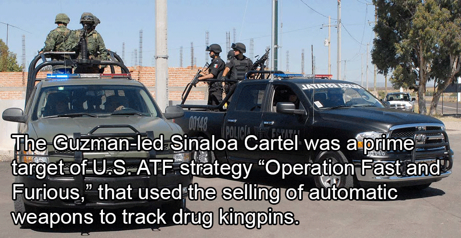 Mexican Police Target Sinaloa Cartel