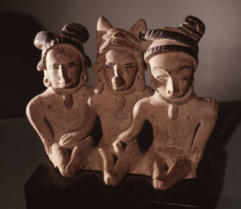 Mexico threesome art figures