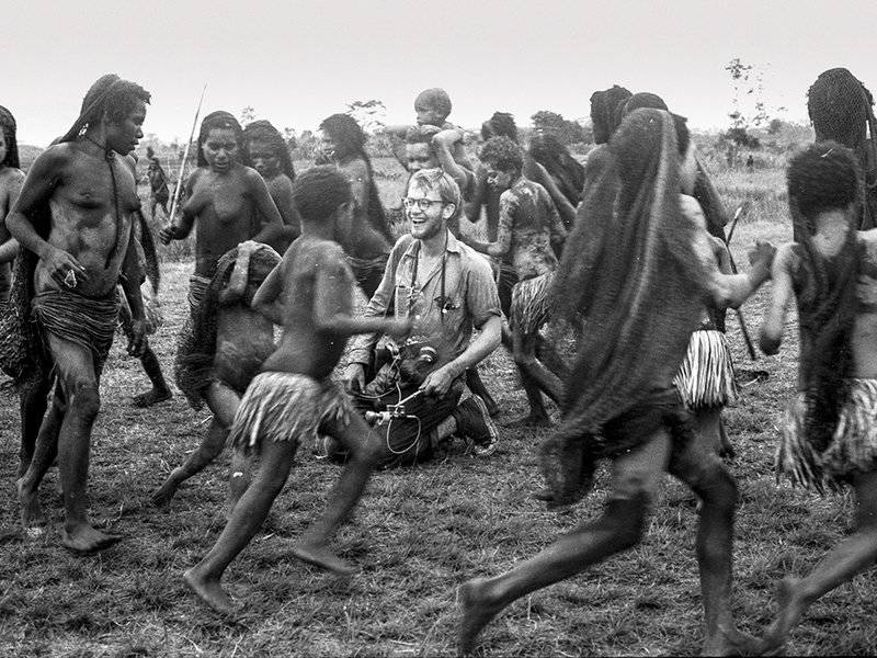 Michael Rockefeller In New Guinea